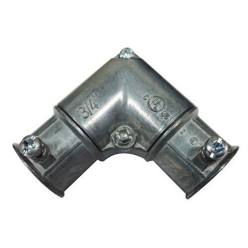 Inside Corner EMT Pull Elbows, Set Screw-Zinc